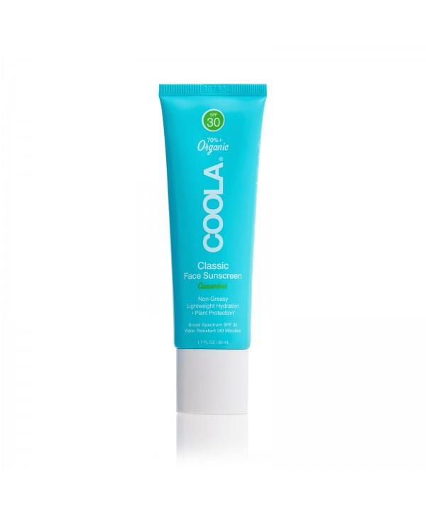 """COOLA Солнцезащитный увлажняющий крем для лица """"Огурец"""" SPF 30"""