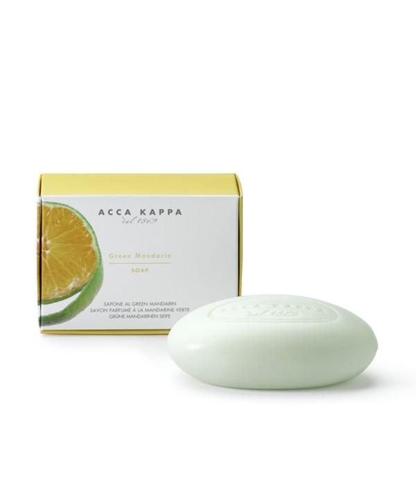 ACCA KAPPA Мыло туалетное Green Mandarin 150 гр
