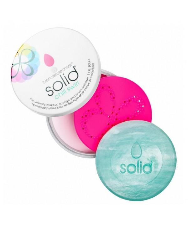 BEAUTYBLENDER Blendercleanser Solid Chill Swirl Мыло для очистки спонжей