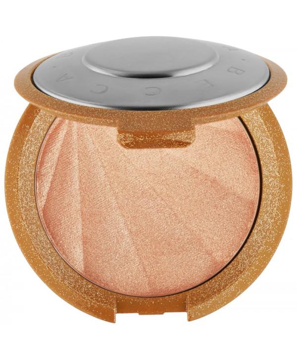 Хайлайтер в мини-формате Becca Shimmering Skin Perfector Pressed Highlighter Champagne Pop