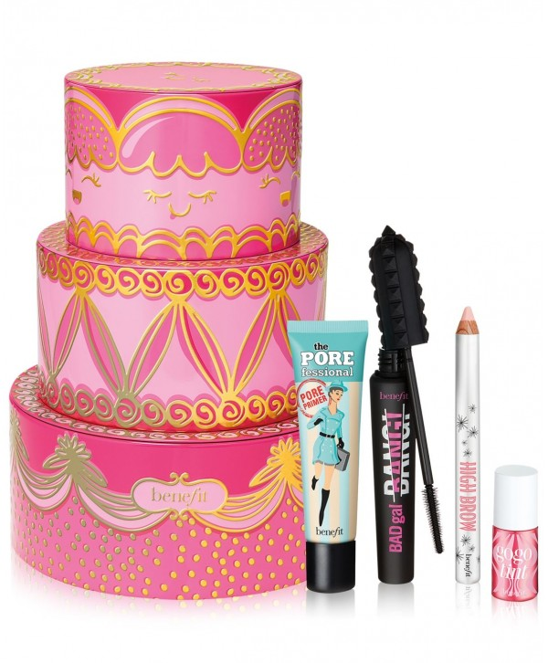 BENEFIT Limited Edition Triple Decker Decadence Gift Set