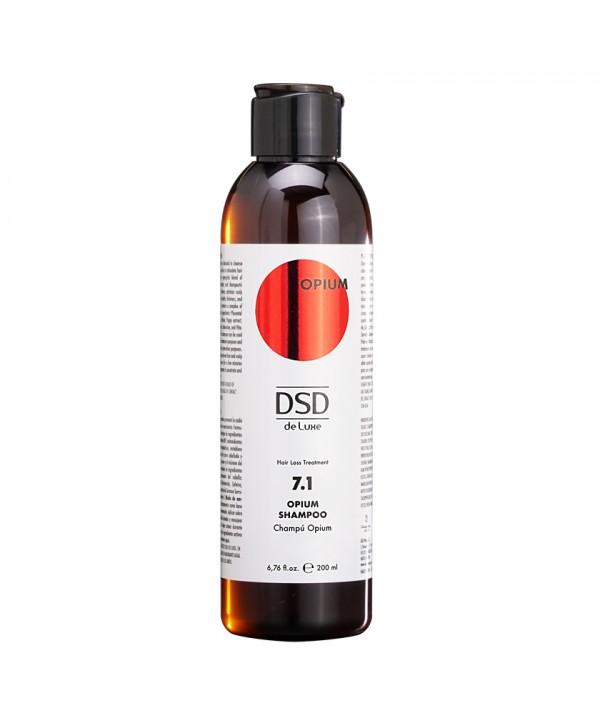 DSD DE LUXE 7.1 Опиум Шампунь для мягкого очищения головы и стимуляции роста волос 200 мл