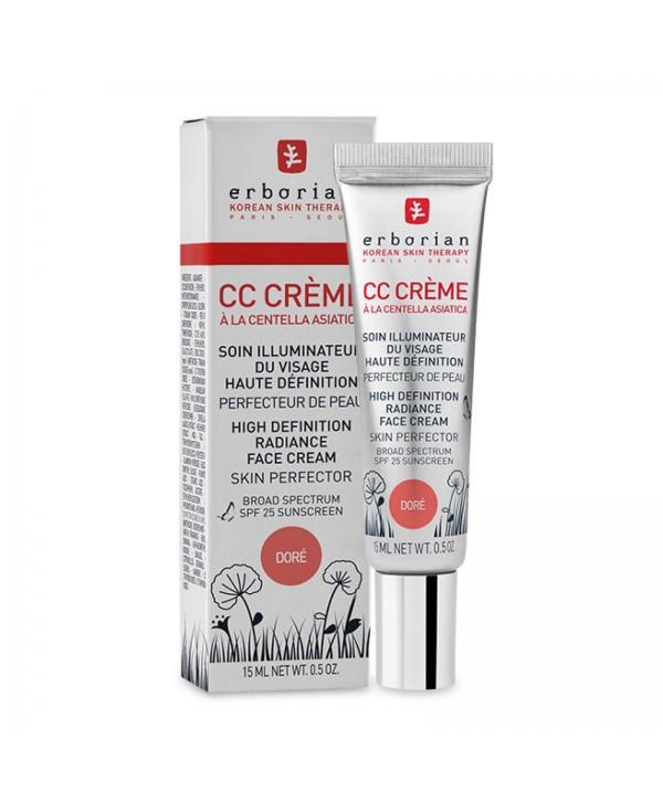 ERBORIAN CC Cream Dore 15 ml Крем Совершенное сияние