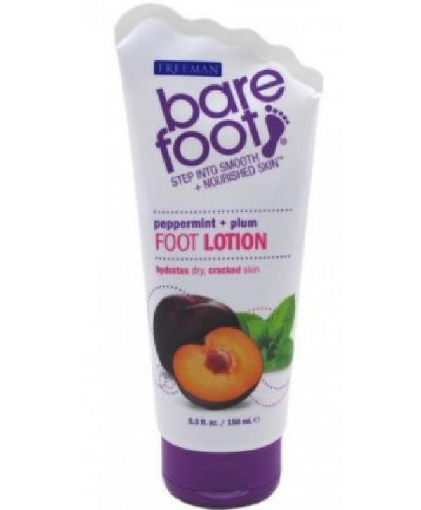 """FREEMAN Bare Foot Foot Lotion Лосьон для ног """"Перечная Мята и Слива"""""""