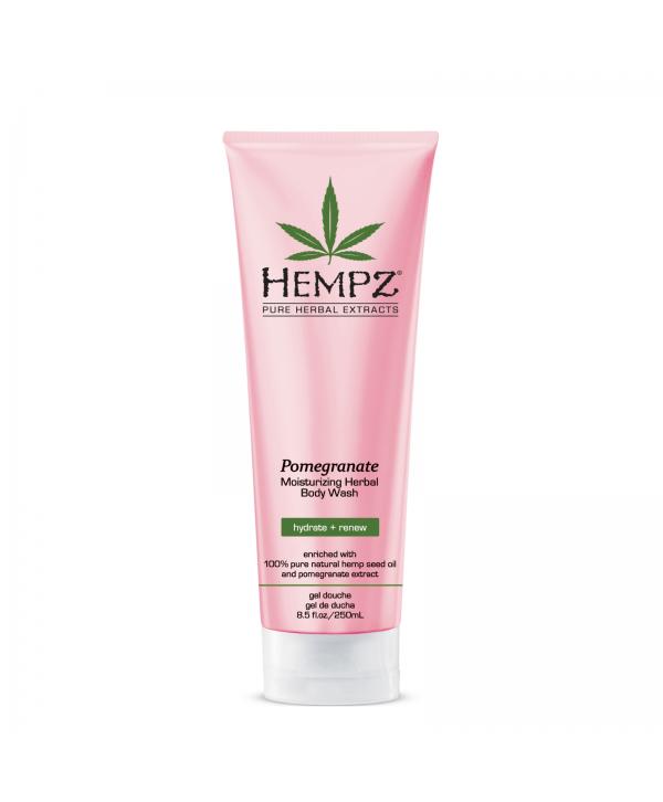 HEMPZ Pomegranate Moisturazing Herbal Body Wash 250 ml Гель для душа Гранат
