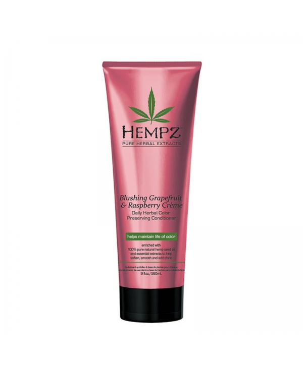 Hempz Conditioner Grapefruit &Raspberry Creme Кондиционер для сохранения цвета и блеска волос