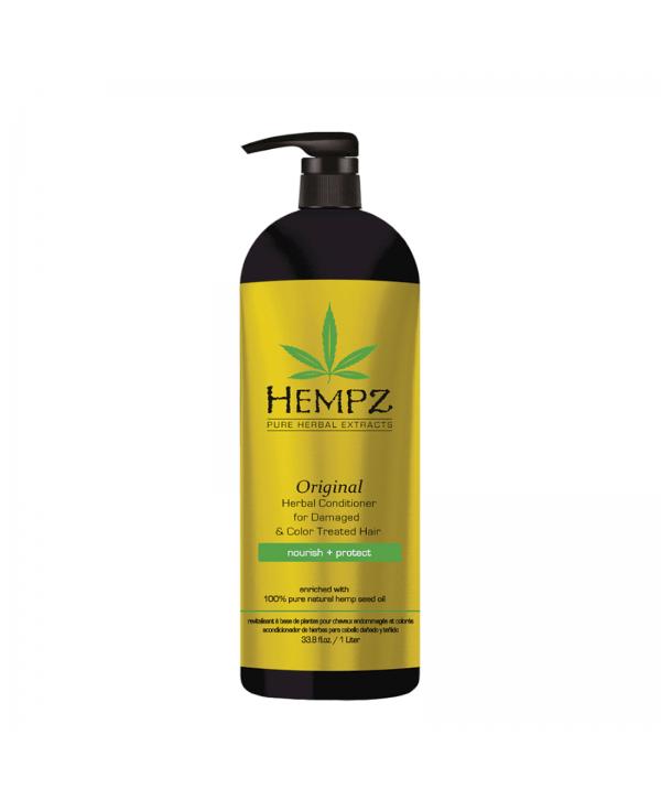 HEMPZ Original Conditioner 1000 ml Растительный кондиционер Оригинальный для поврежденных окрашенных