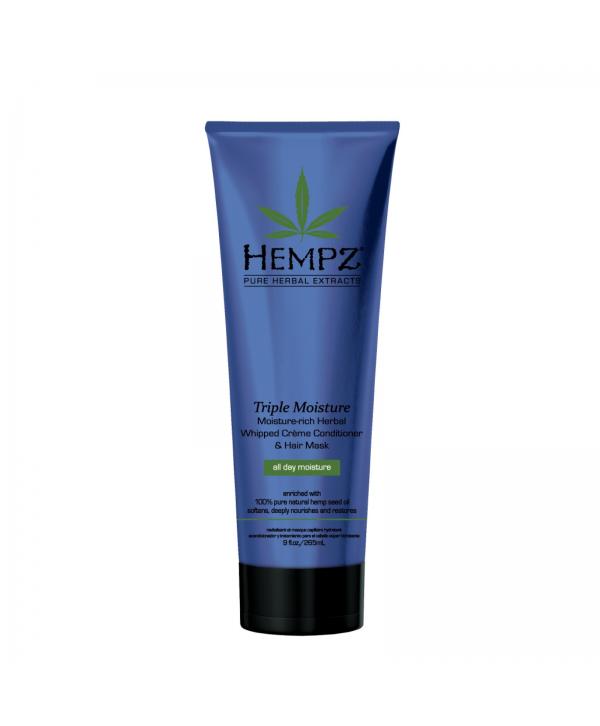 HEMPZ Triple Moisture Conditioner 265 ml Растительный кондиционер Тройное Увлажнение сильной степени