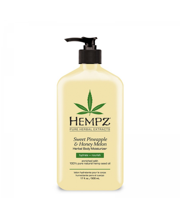 Hempz Молочко для тела Ананас и медовая дыня Sweet Pineapple & Honeymelon Herbal Body 500 ml