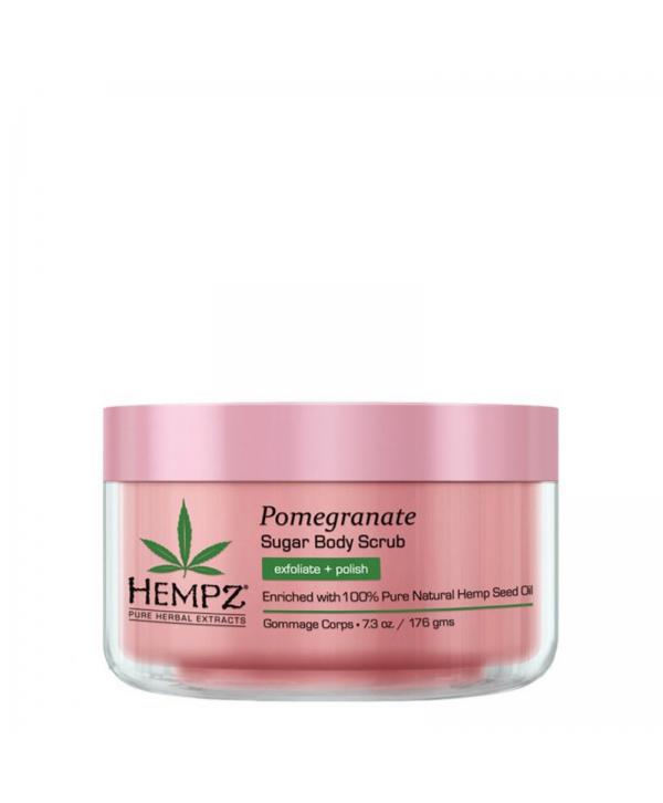 HEMPZ Pomegranate Sugar Body Scrub 176 g Сахарный скраб для тела Гранат