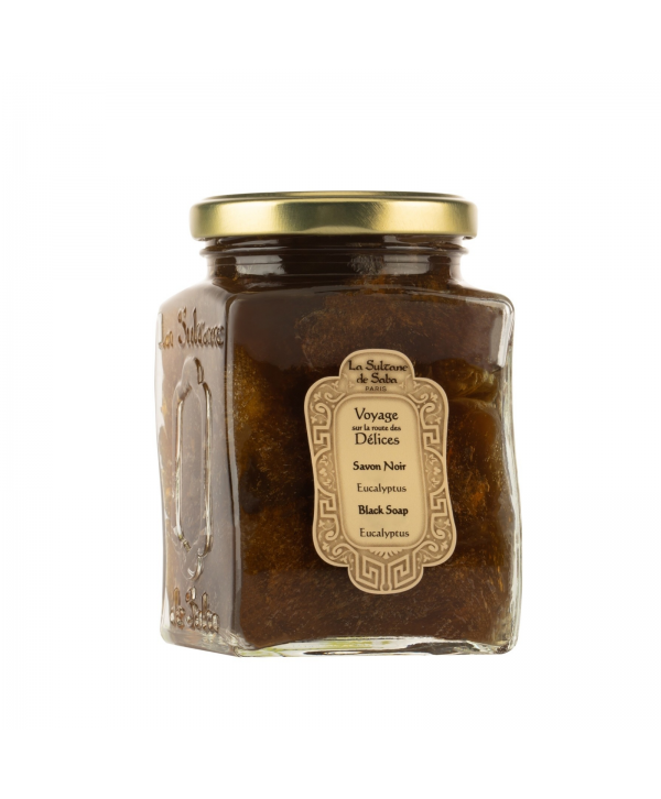La Sultane De Saba Authentic Eucaliptus Black Soap Черное мыло