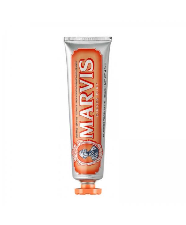 """MARVIS Зубная паста """"Мята и Имбирь"""" 85 мл в оранжевой упаковке"""