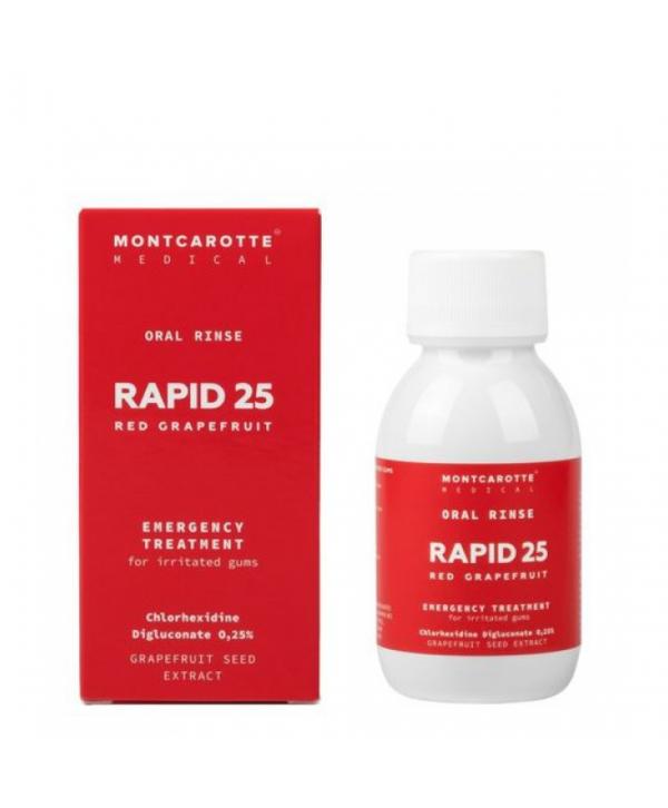MONTCAROTTE Rapid 25 Red Grapefruit Opal Rinse 100 ml