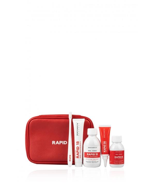 MONTCAROTTE Rapid 25 Red Emergecy Dental Kit