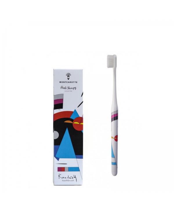 """Kandinsky toothbrush Abstraction Brush Collection  Зубная Щетка """"Кандинский"""" из коллекции «Абстракционистов» 12+"""