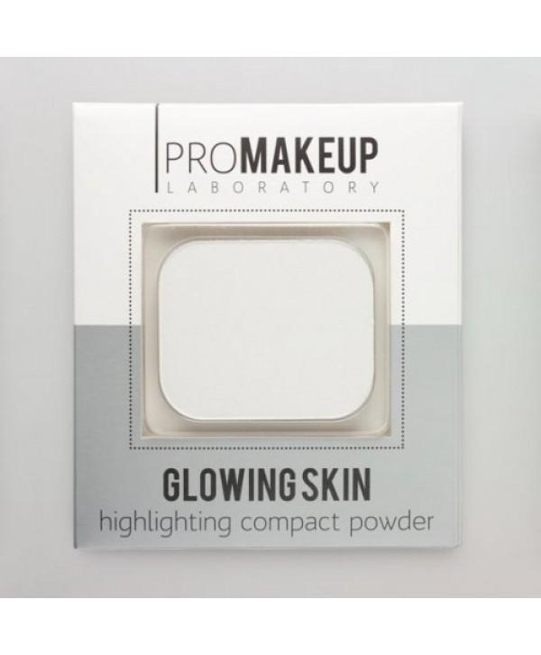 PROMAKEUP Glowing Skin Компактный хайлайтер 101 белый