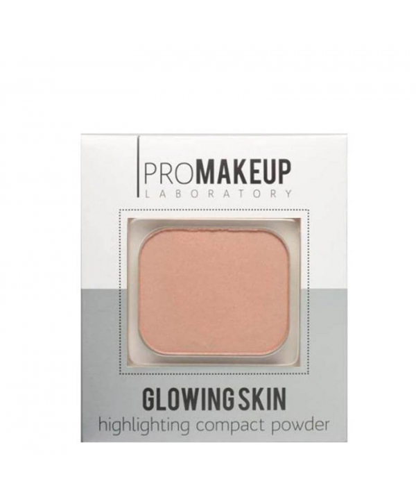 PROMAKEUP Glowing Skin Компактный хайлайтер 103 бежевый