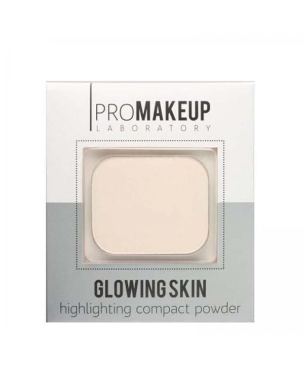 PROMAKEUP Glowing Skin Компактный хайлайтер 104 золотой