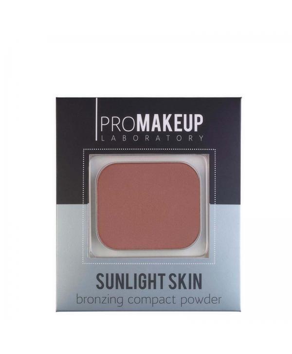 PROMAKEUP Sunlight Skin Бронзирующая пудра 201 Матовая пудра с преобладанием красно-желтого пигмента