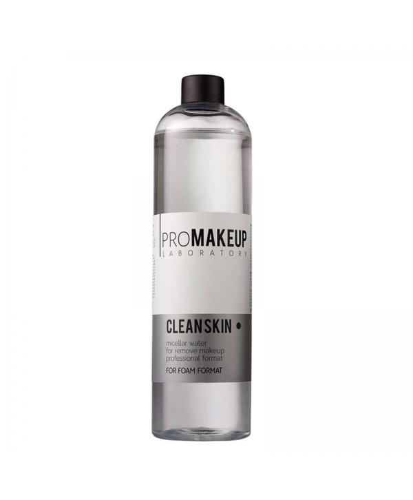 PROMAKEUP Clean Skin Мицеллярная вода 500 мл для пенообразователя