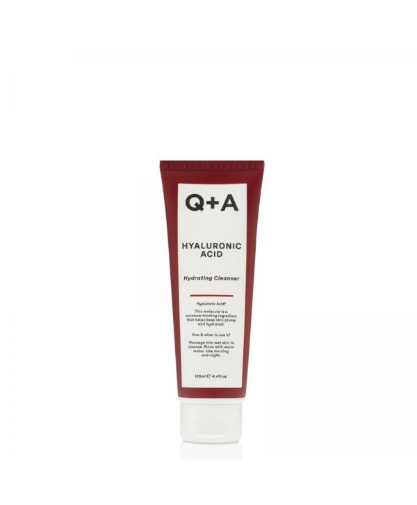 Q+A Очищающий гель для лица HYALURONIC ACID 125 мл