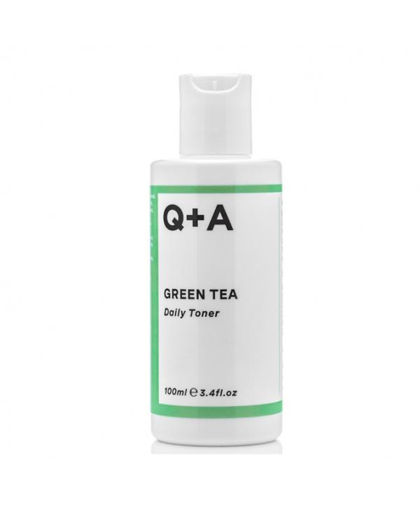 Q+A Тоник для лица GREEN TEA 100 ml