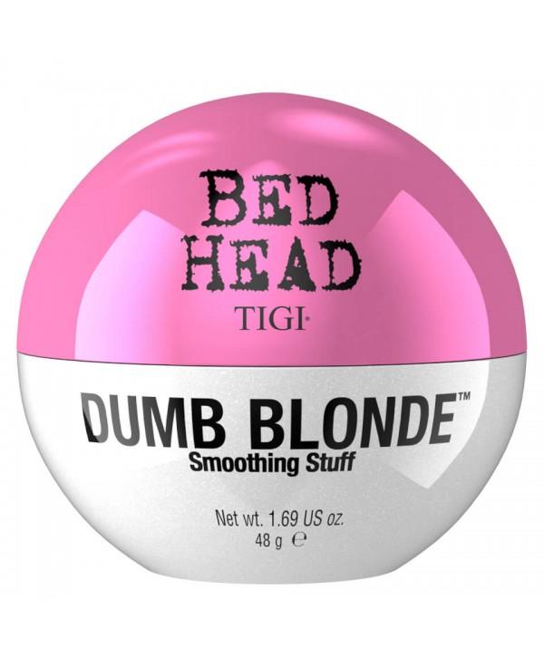 TIGI Bed Head Текстурирующий крем для укладки волос Dumb Blond Smoothing Stuff