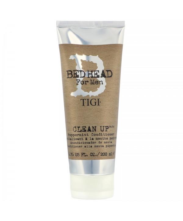 TIGI Bed Head For Men Кондиционер мятный для волос 200 мл Clean Up Peppermint Conditioner