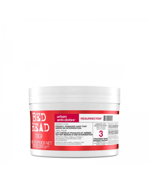 TIGI Bed Head Маска для поврежденных волос уровень 3, 200 гр  Bed Head Urban Anti+dotes