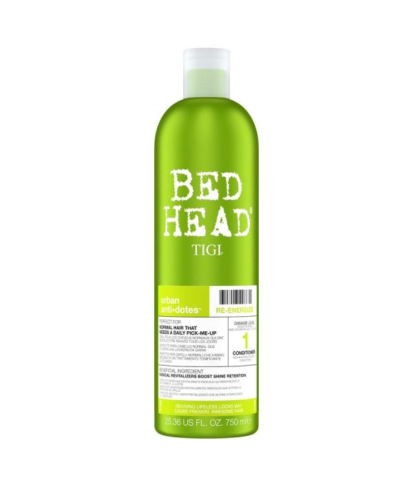 TIGI Bed Head Шампунь для поврежденных волос уровень 1, 750 мл Bed Head Urban Anti+dotes Re-Energize
