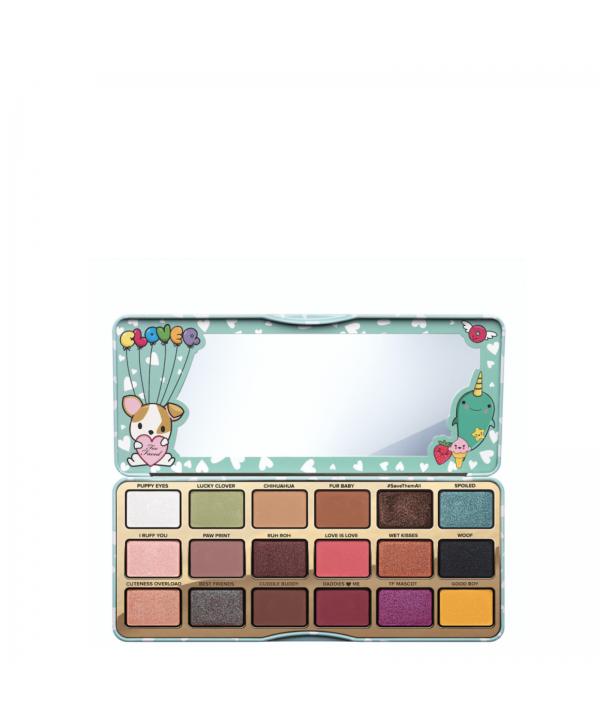 TOO FACED Clover Eye Shadow Palette~18 Shades~Brand New~Limited Edition Палетка теней для глаз