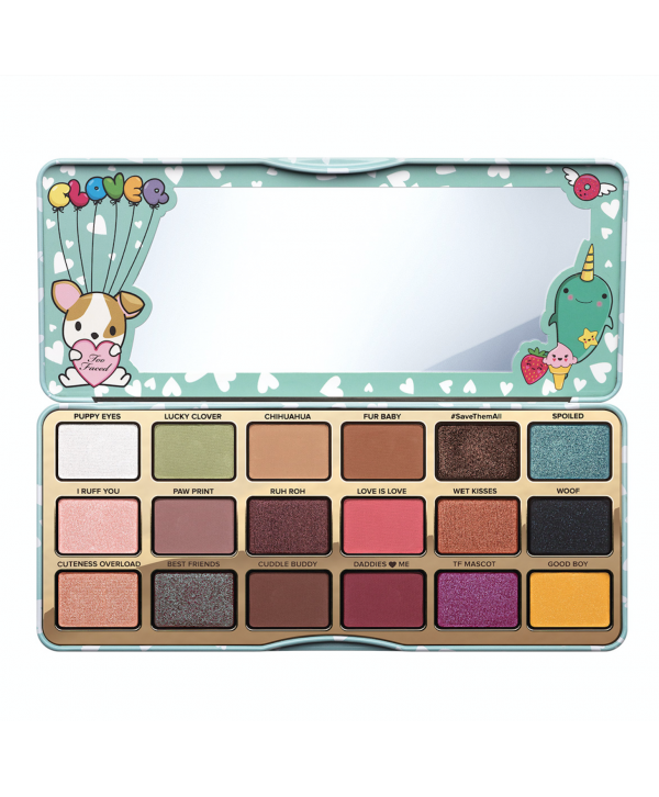 TOO FACED Clover Eye Shadow Palette~18 Shades~Brand New~Limited Edition Палетка теней для глаз