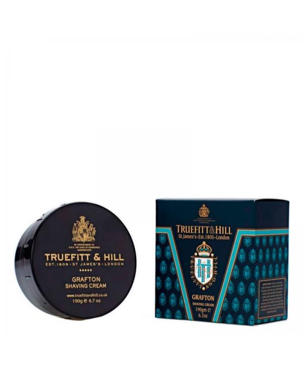 Truefitt&Hill  00029  Grafton Shaving Cream  190 г  Grafton Крем для бритья (в банке)