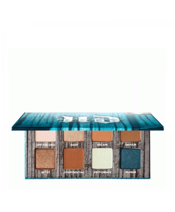 URBAN DECAY On The Run Mini Palette - Shortcut Палетка теней для глаз 8 цветов