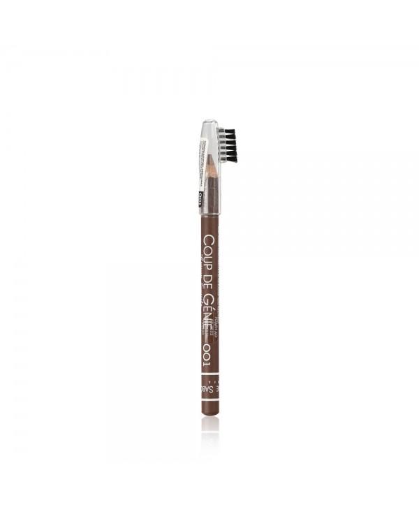 VIVIENNE SABO Eyebrow Pencil Coup de Genie 001 Карандаш для бровей, коричневый