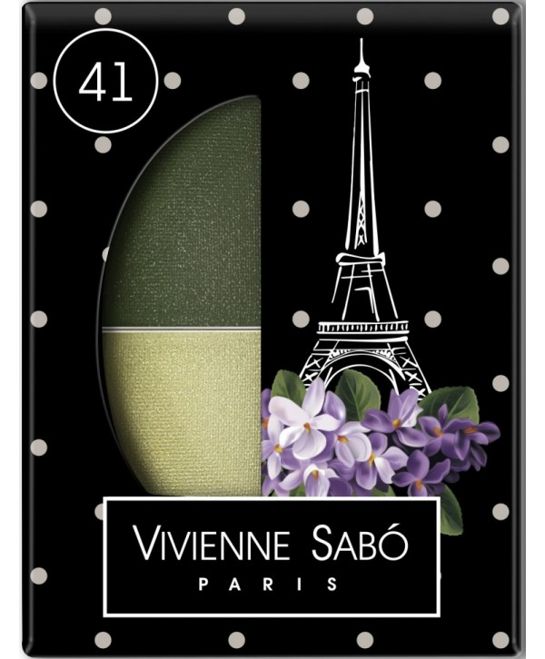 VIVIENNE SABO Eyeshadow Duo Ombre a Paupieres Duo Jeter du Chic Тени для век двойные тон 41
