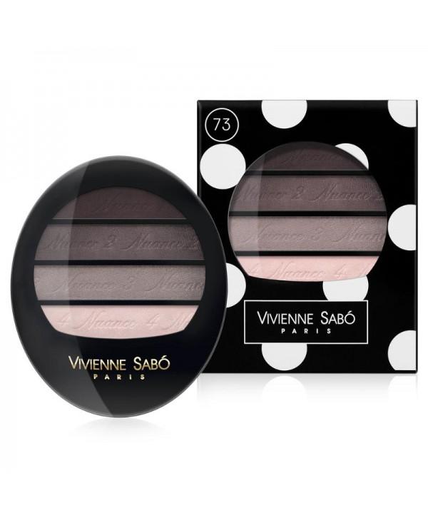 VIVIENNE SABO Eyeshadow Quartet  Тени для век квартет тон 73