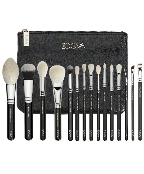 Zoeva Complete Set 15 brush + cloutch