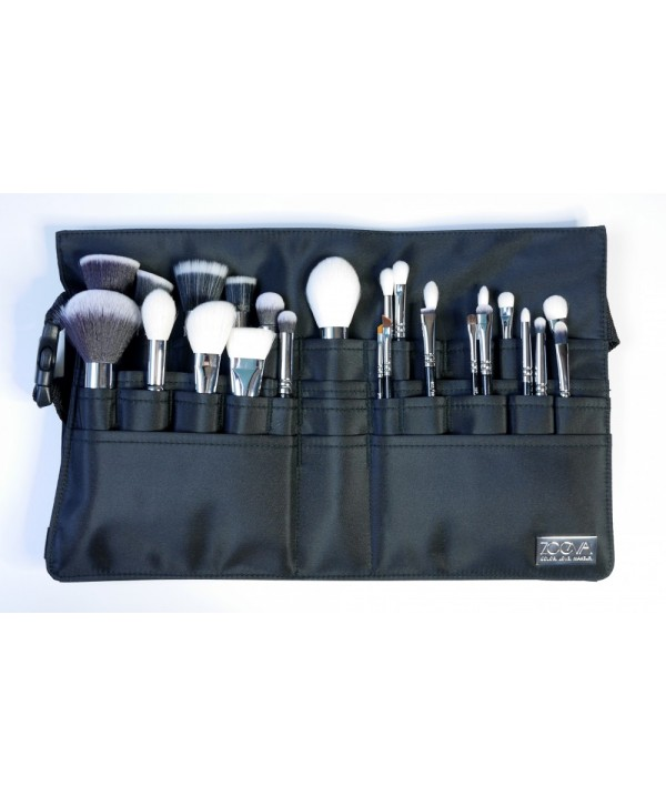 ZOEVA Augenpinsel Make Up Artist Brush Belt Пояс визажиста 25 кистей