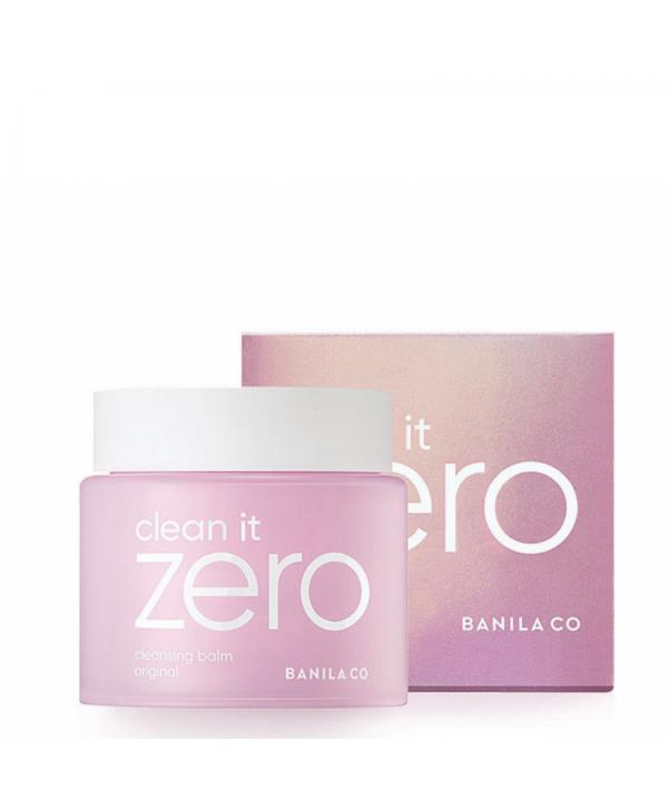 Zero Banilo co cleansing balm 100 ml Очищающий бальзам розовый