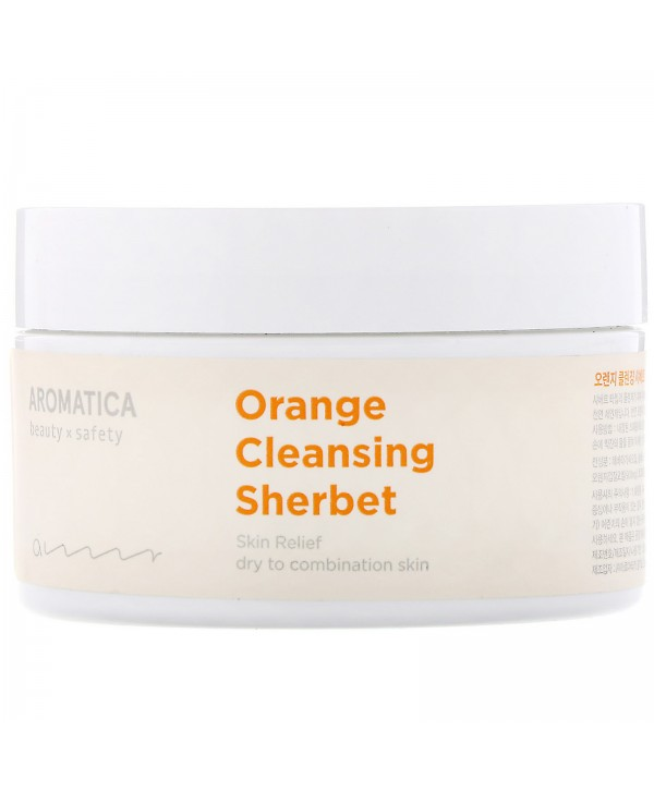 AROMATICA Orange Cleans Гидрофильный бальзам