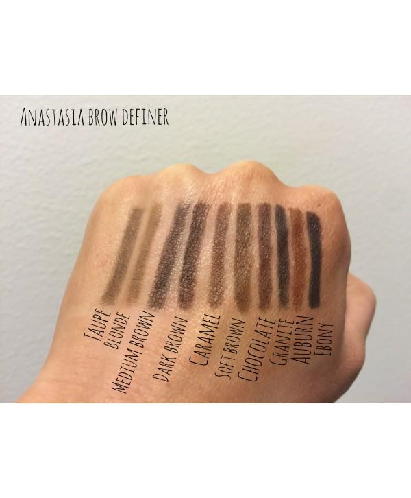 ANASTASIA BEVERLY HILLS Brow Wiz Механический карандаш для бровей Dark Brown