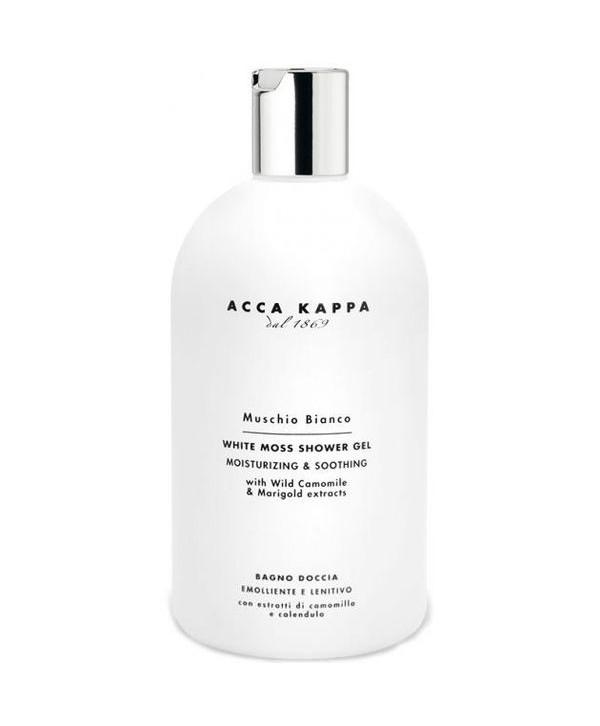 ACCA KAPPA Muschio Bianco гель для душа и ванны 500 ml