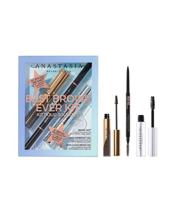 ANASTASIA BEVERLY HILLS Best Brows Ever Kit Soft Набор для бровей (brow wiz, гель мини проз+оттен)