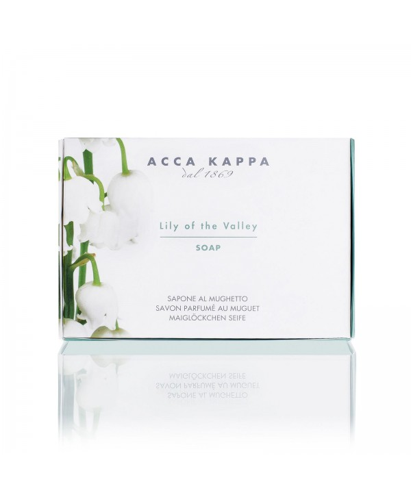 ACCA KAPPA Мыло туалетное Lily of the Valley 150 гр