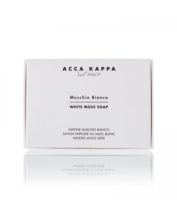 ACCA KAPPA Мыло туалетное Muschio Bianco 150 гр