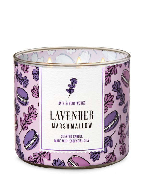 BATH & BODY WORKS Свеча 411 гр Lavender Marshmallow