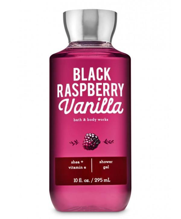 BATH & BODY WORKS Гель для душа  295 мл Black Raspberry Vanilla
