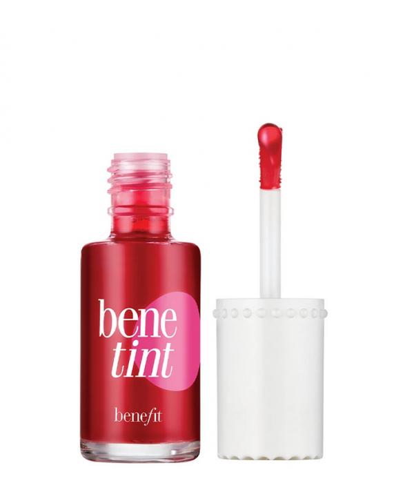BENEFIT Benetint Rose-Tinted Lip & Cheek Stain 4 мл Жидкий пигмент для губ и щёк из набора