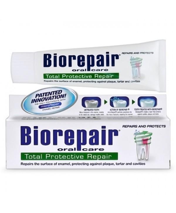 BIOREPAIR TotalProtective Repair Воостанавливает эмаль зуба